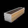 Mühlviertel Granit mit Schneckennase + Abedeckblech
